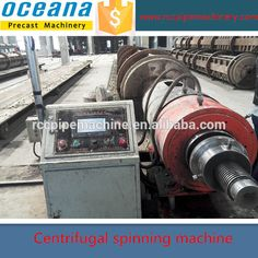 World Famous Highly Automatic Concrete Electrical Pole Steel Mold , Production Line