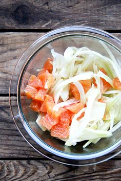 fennel and cara cara orange salad — love this winter salad