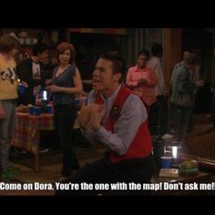 You tell her Crazy Steve