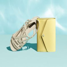 The Louis Vuitton small leather goods collection for Summer. #Sandals