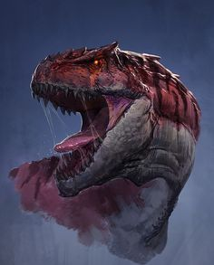 ArtStation - Tyrannosaurus rex, btx_xu Ce                                                                                                                                                                                 More
