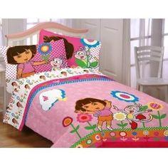 Another cute Dora bedding set.