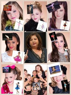 My own dance moms collage