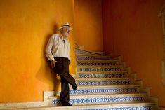 Carlos Monsivais por Daniel Mordzinski