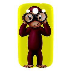 Curious George Samsung Galaxy S III S3 Hardshell Case | bestiphone5caseshop - Accessories on ArtFire