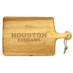 """""""University of Houston Cougars"""" Artisan Paddle"""