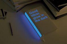 Good ideas glow in the dark by Bruketa&Žinić and Brigada. Croatian designers Bruketa&Žinić have created an annual report for investment comp...