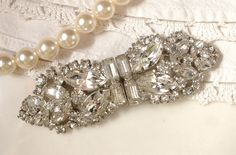 Pearls AND diamantes, who could ask for more!