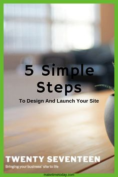 Have your hosting and the technical stuff sorted? Check out this post on how you can design your site and launch with no coding required Business Cards Online, Create Your Own Website, Make Time, About Me Blog, Product Launch, Coding, Posts, Check, Design
