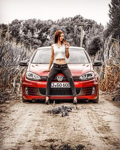 Welcome to Volkswagen UK. Discover all the information about our new, used & electric cars, offers on our models & financing options for a new Volkswagen today. Vw Golf Tdi, Golf 7 Gti, Volkswagen Golf Mk2, Used Electric Cars, Bus Girl, Vw Passat, Cute Cars, Car Girls, Sexy Cars
