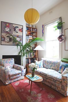 Alice & Lucy's Playful, Patterned Melbourne Home — House Tour