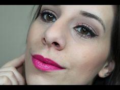 Maquiagem Neutra com Batom Pink | Flor de Menina |