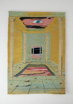 "my-kelde: "" Tomasz and Alicja Kowalski. Textiles, Textile Patterns, Textile Art, Kunst Inspo, Art Inspo, Art And Illustration, Surreal Artwork, Sad Art, Watercolor Art"