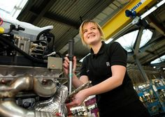 Record number of apprenticeships at  Crewe for 2017