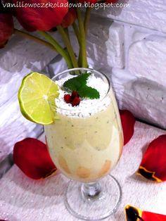 Słodko i wytrawnie. : Deser jaglany z kiwi i miętą (Vege & White sugar f...