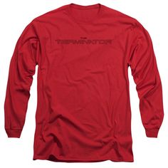 "Checkout our #LicensedGear products FREE SHIPPING + 10% OFF Coupon Code ""Official"" Terminator / Logo Outline-long Sleeve Adult 18 / 1 - Terminator / Logo Outline-long Sleeve Adult 18 / 1 - Price: $29.99. Buy now at https://officiallylicensedgear.com/terminator-logo-outline-long-sleeve-adult-18-1"