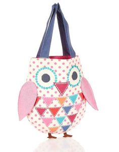Would be a cute bookbag. Or jst because I want it bag.haha!Owl Bag