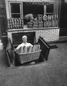Bakery Bleeker Street New York 1947
