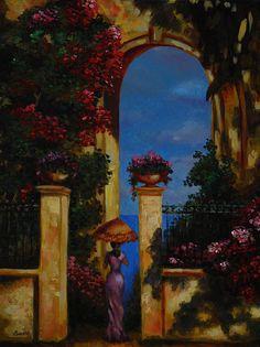 Midday by Nelly Baksht by ArtbyNelly on Etsy, $350.00