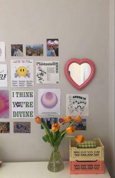 Indie Room Decor, Cute Room Decor, Aesthetic Room Decor, Zen Room Decor, Room Design Bedroom, Room Ideas Bedroom, Bedroom Inspo, Pastel Room, Pastel Decor