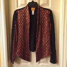 Ruby Rd NWT jacket size S NWT open front jacket size S tag attached no flaw Ruby Rd Jackets & Coats