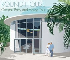 November 6, 2015 7 to 10 pm $100 The Round House, also known as the Hilton Leech Art Studio, was designed in 1960 by Sarasota School architect Jack West. The 18-foot tall circular house has overhea...