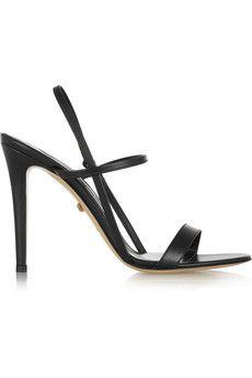 Diane von Furstenberg Ulla leather sandals | NET-A-PORTER