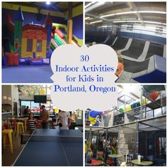 It's that time of year again when it just will not stop raining in PDX, so once again we are on the hunt for indoor activities for the kids. You will notice that this year's list is alm…