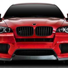 BMW X6M E 71 Carbon Fiber Lip Set   Carbon Fibre Front Lip Carbon Fibre Rear Diffusor  Sale Price : $2,800.00