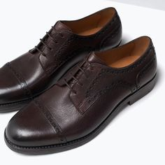 ZARA - UOMO - DERBY  PELLE nice and affordable...I'll go check them out