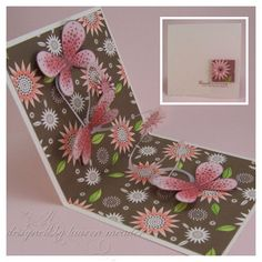 Spring out card - tutorial on how to make this interactive card - bjl