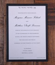 Wedding Invitation Invitation Clean Wedding by KiwiInvitations