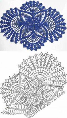 32 Brilliant Picture Of Crochet Crochet Tablecloth Pattern, Free Crochet Doily Patterns, Crochet Doily Diagram, Crochet Motif, Crochet Designs, Diy Crafts Crochet, Crochet Art, Thread Crochet, Crochet Home