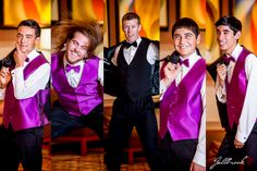 Groomsmen picture ideas!  The Groom and his boys acting silly.