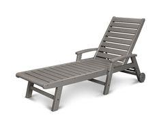 POLYWOOD® Signature Wheel Chaise Lounge