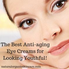Our eye creams use all-natural, healthy, and effective ingredients. Learn more at: naturalorganicskincare.com