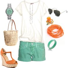 Cute, casual spring outfit