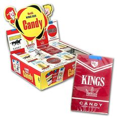 """Candy Cigarettes! These and the bubblegum ones that had """"smoke"""" in them lol"""