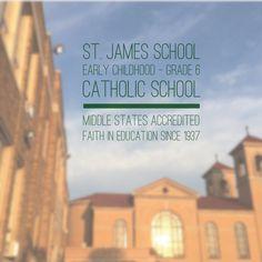 Middle States accredited Catholic School, Saint James, Early Childhood, Middle, Faith, Education, Santiago, Teaching, Loyalty