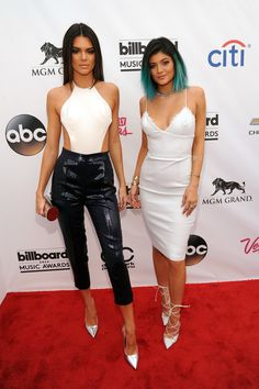 Kendall and Kylie at the Billboard Music Awards