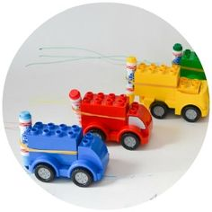 A simple project that young engineers will love - turning lego cars into doodle cars! Kids can create whimsical art, then hold a colourful race.
