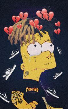 simpsons sad sadlife Image by Adriana Pataky 💔 Graffiti Wallpaper Iphone, Glitch Wallpaper, Simpson Wallpaper Iphone, Aesthetic Iphone Wallpaper, Bad Girl Wallpaper, Crazy Wallpaper, Cute Emoji Wallpaper, Simpsons Drawings, Simpsons Tattoo