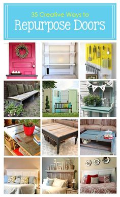 35 Creative Ways to Repurpose Old Doors