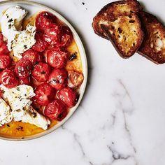 Roasted Cherry Tomato Caprese