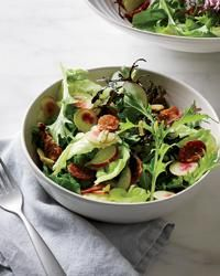 Green Salad with Chorizo Chips Recipe on Food & Wine