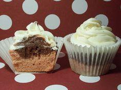 Neapolitan Cupcake
