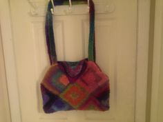 Granny Square Bag - !0 square bag