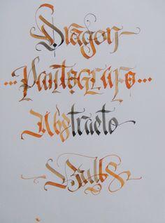 Calligraphy Types VII