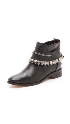 Freda Salvador Star Bracelet Booties..love the fringe detail