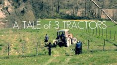 A glimpse of our life in Le Marche. Without a tractor of our own, it takes a village or at least the help of a three neighbors and their tractors, to help us prepare the soil for our huge orto (fruit  vegetable garden)!